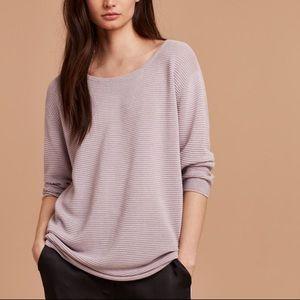 WILFRED Aritzia Blanchard Sweater in Lilac